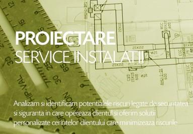 Proiectare si service instalatii