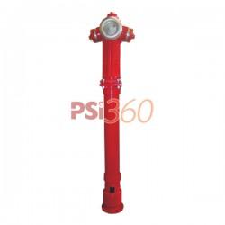 Hidrant suprateran DN 100 - 2B + 1A. constructie retezabila