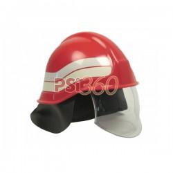 Casca pompier cu vizor