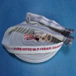 Furtun pompieri, Tip D, 10bar, rola 20ml, cu racorduri legate